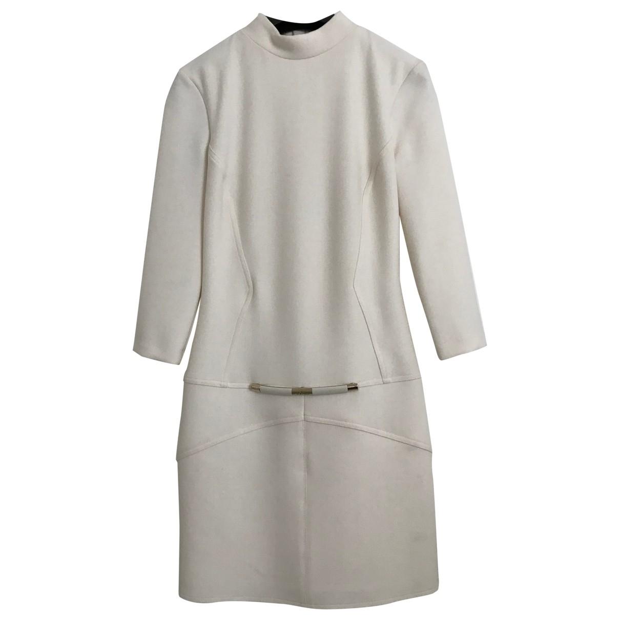 Elisabetta Franchi \N White dress for Women 38 IT