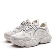Maenner Sneakers mit Band vorn und Netzeinsatz