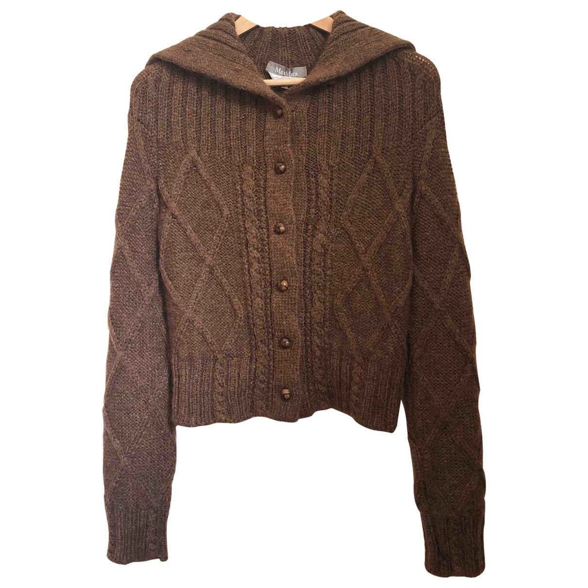 Max Mara \N Brown Wool Knitwear for Women M International