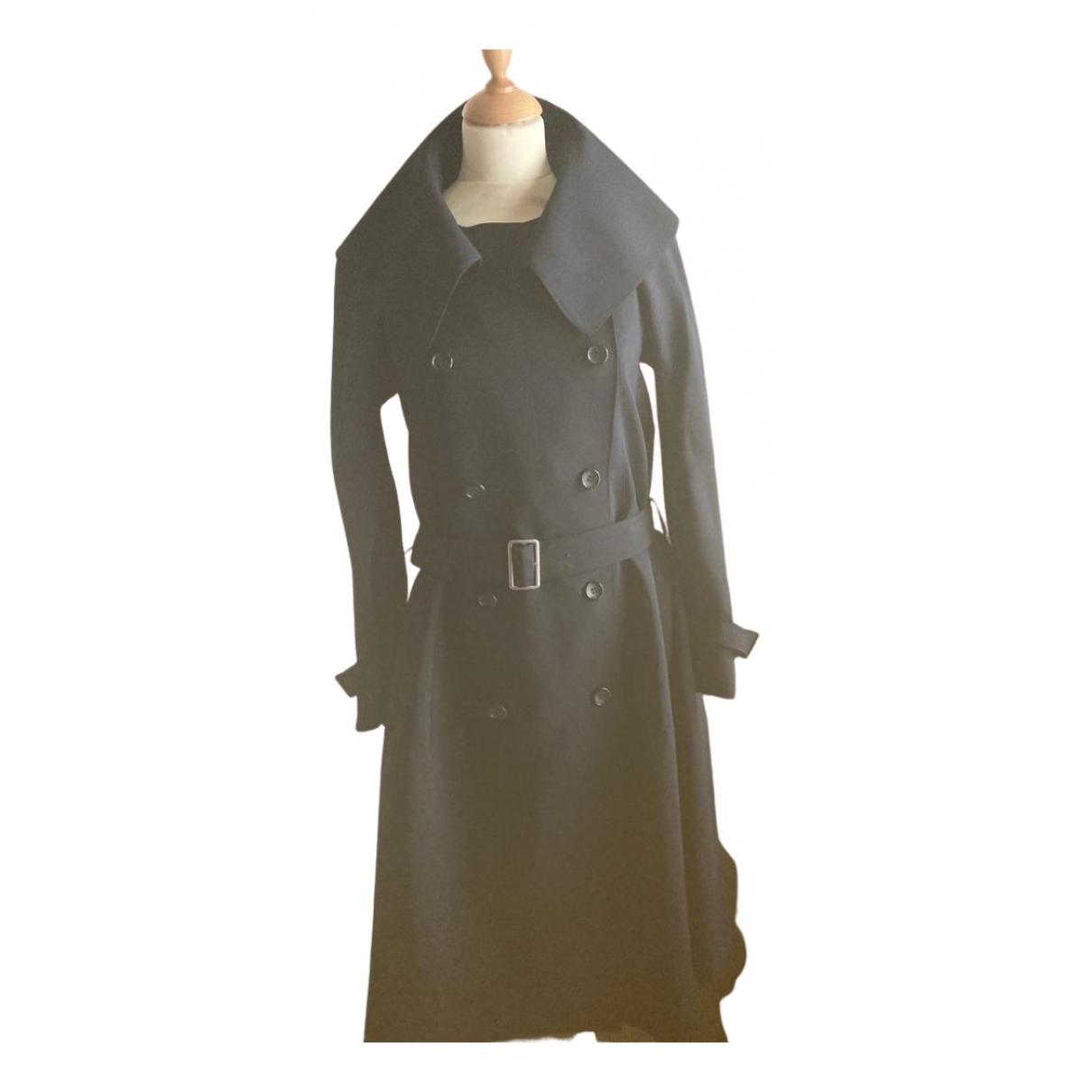 Junya Watanabe - Manteau   pour femme en laine - marine