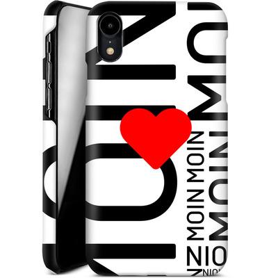 Apple iPhone XR Smartphone Huelle - Moin Moin von caseable Designs