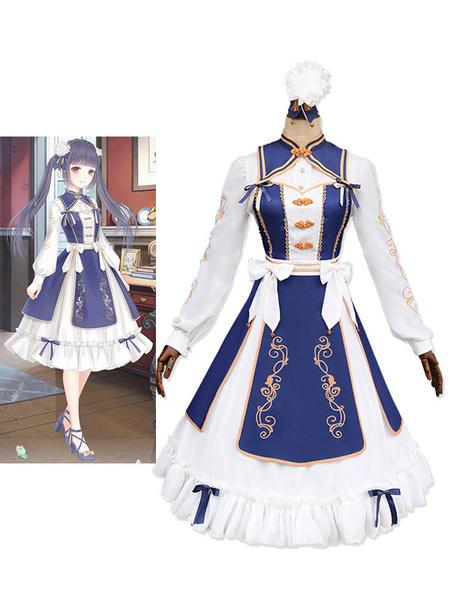 Milanoo Love Nikki Nikki Cosplay Game Anime Princess Lolita Dress Qi Lolita Dress Halloween