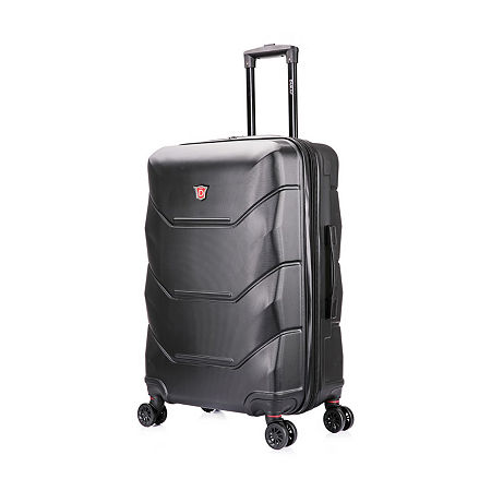 DUKAP Zonix Hardside 26 Inch Luggage, One Size , Black