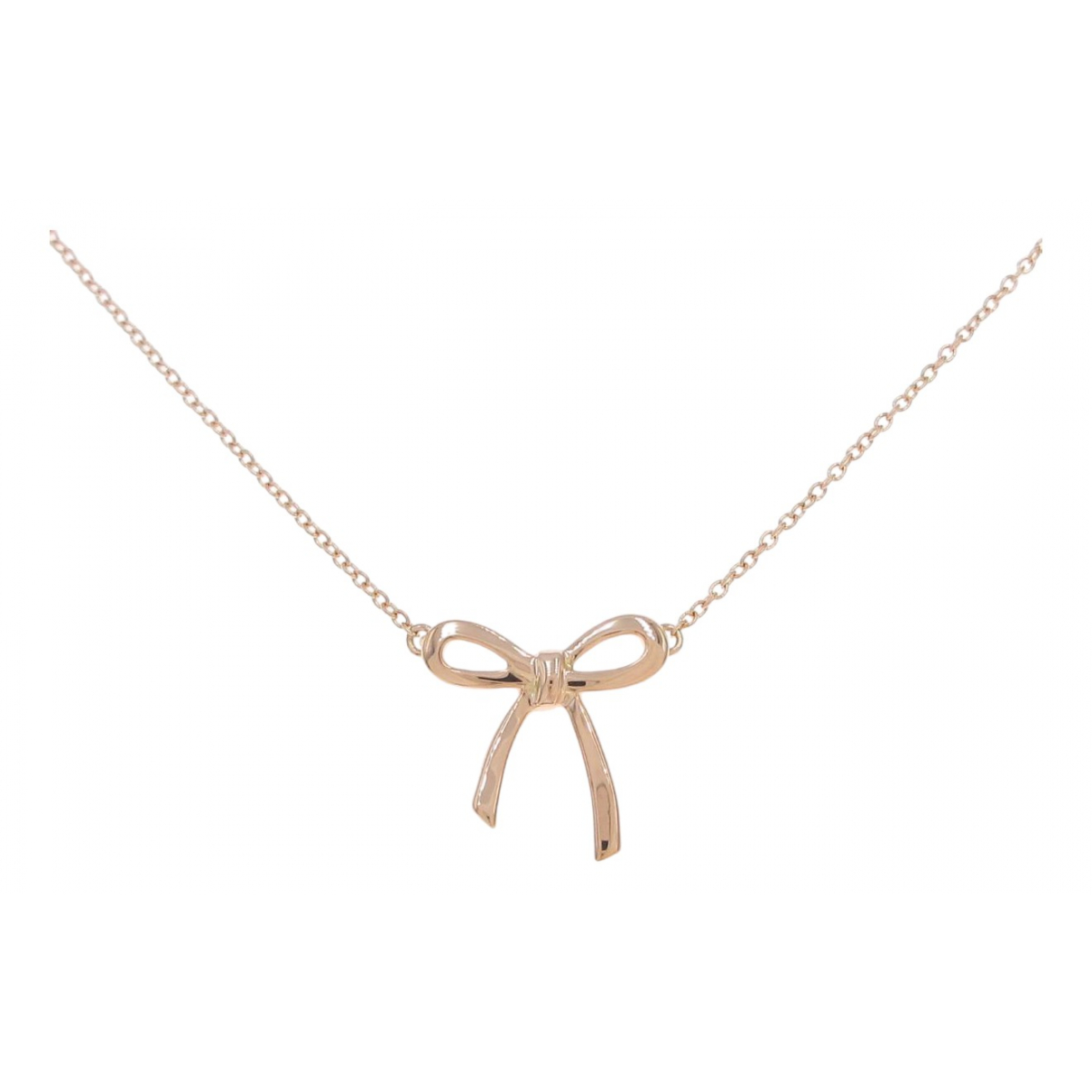 Tiffany & Co - Collier   pour femme en or rose - dore