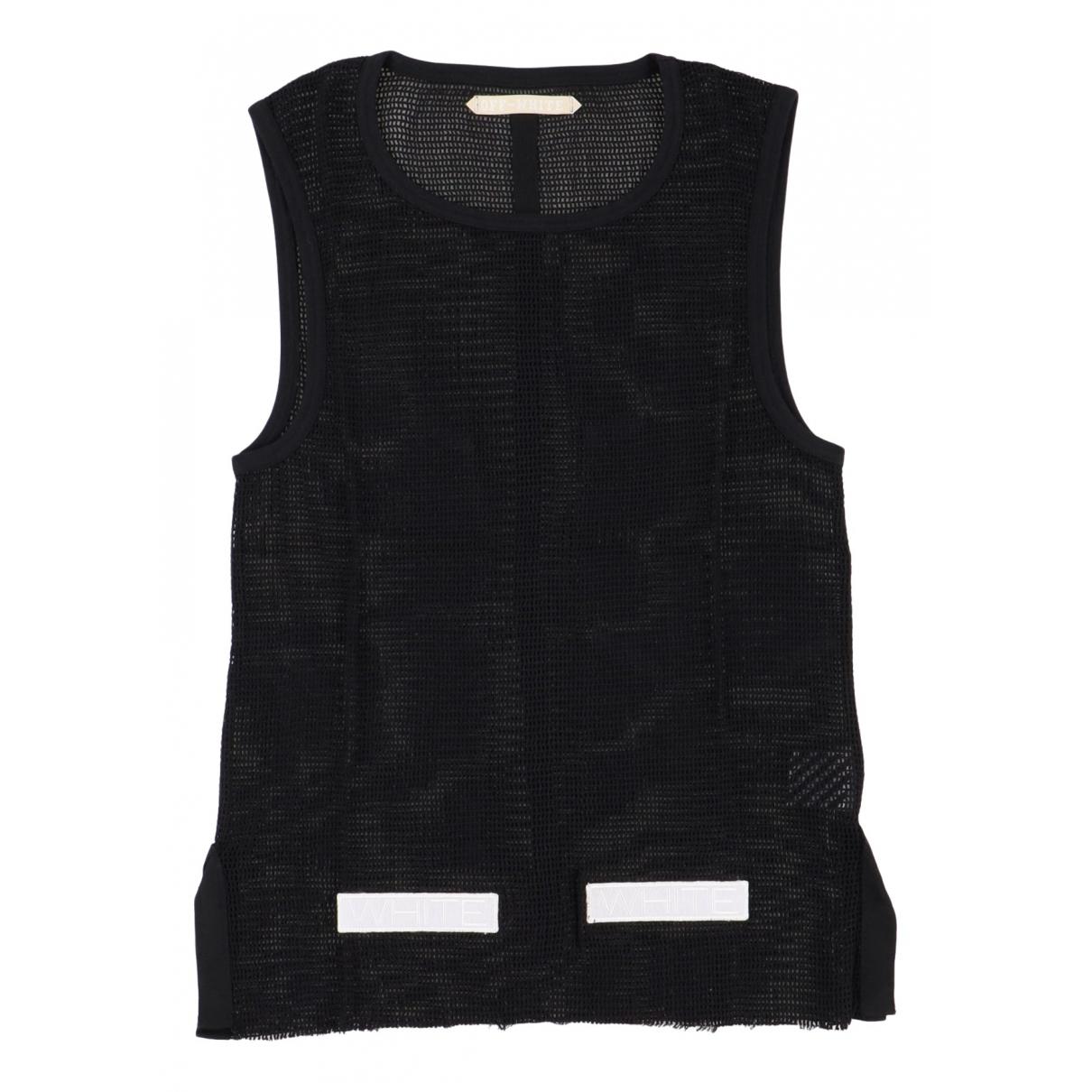 Off-white \N Black Cotton T-shirts for Men M International