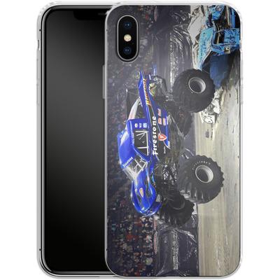 Apple iPhone X Silikon Handyhuelle - Firestone von Bigfoot 4x4