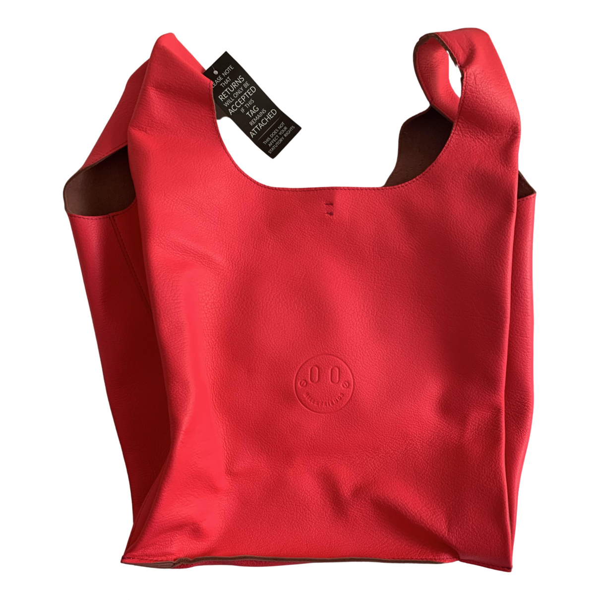 Hill & Friends \N Handtasche in  Rosa Leder