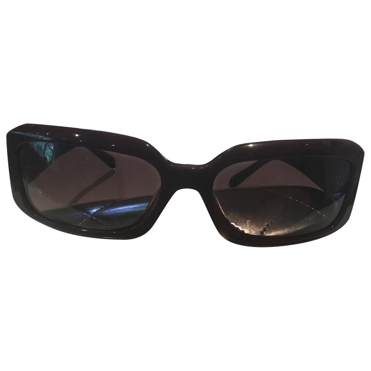 Chanel \N Burgundy Sunglasses for Women \N