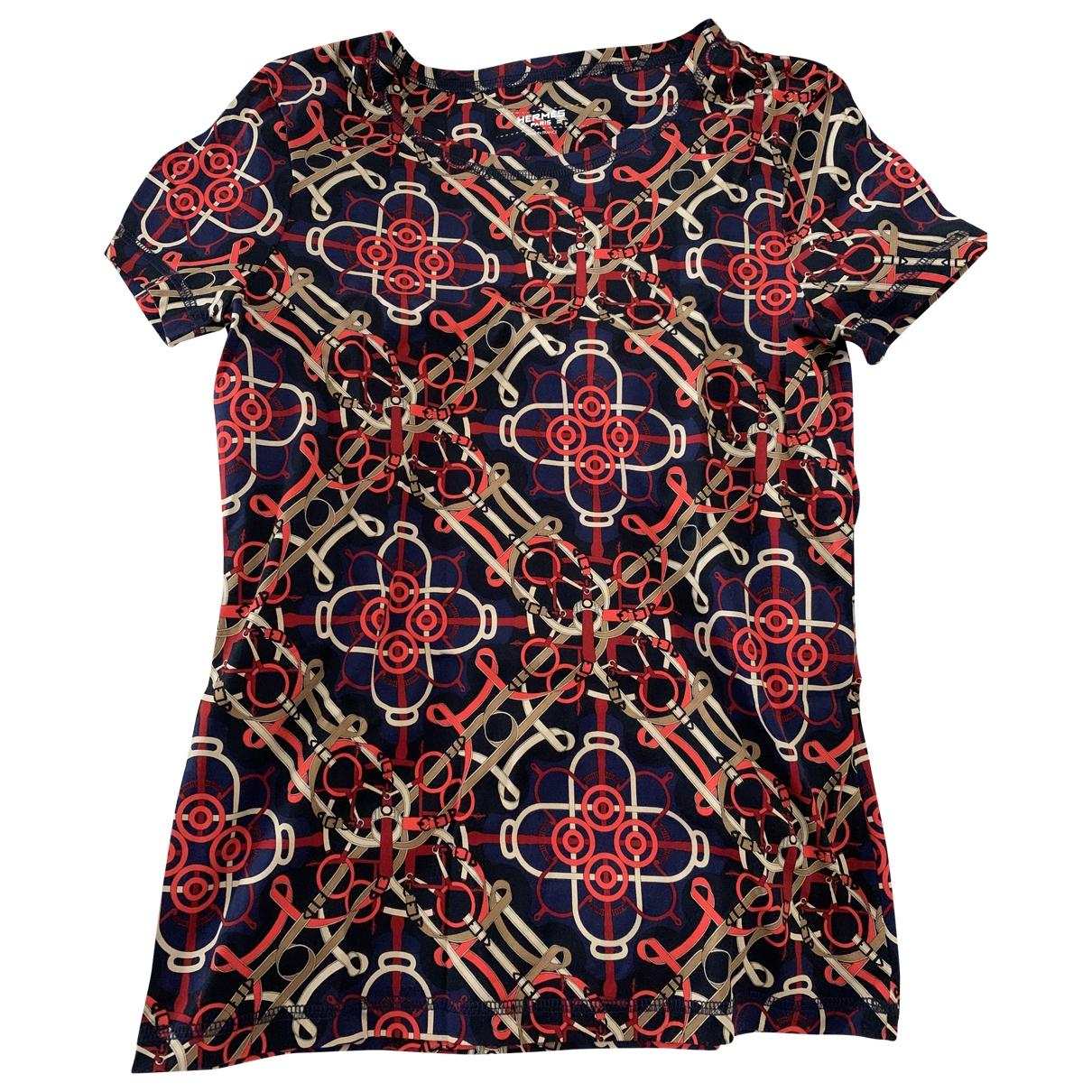 Hermès \N Multicolour Cotton  top for Women 34 FR