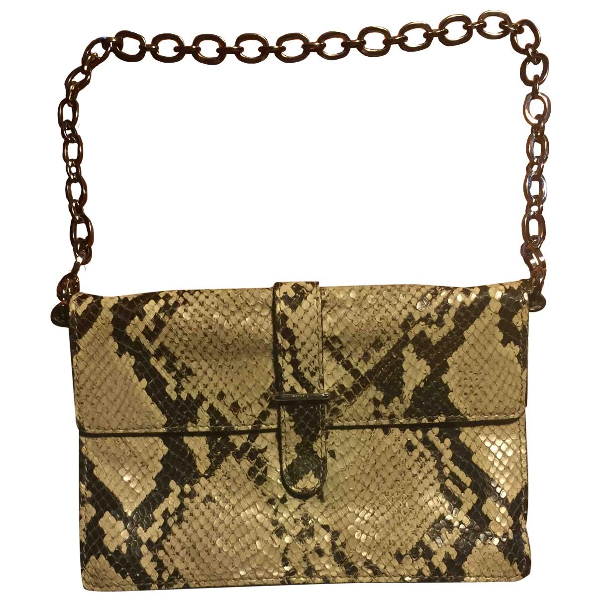 Furla \N Beige Leather Clutch bag for Women \N