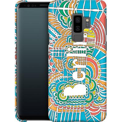 Samsung Galaxy S9 Plus Smartphone Huelle - Berlin Blue von Kaitlyn Parker