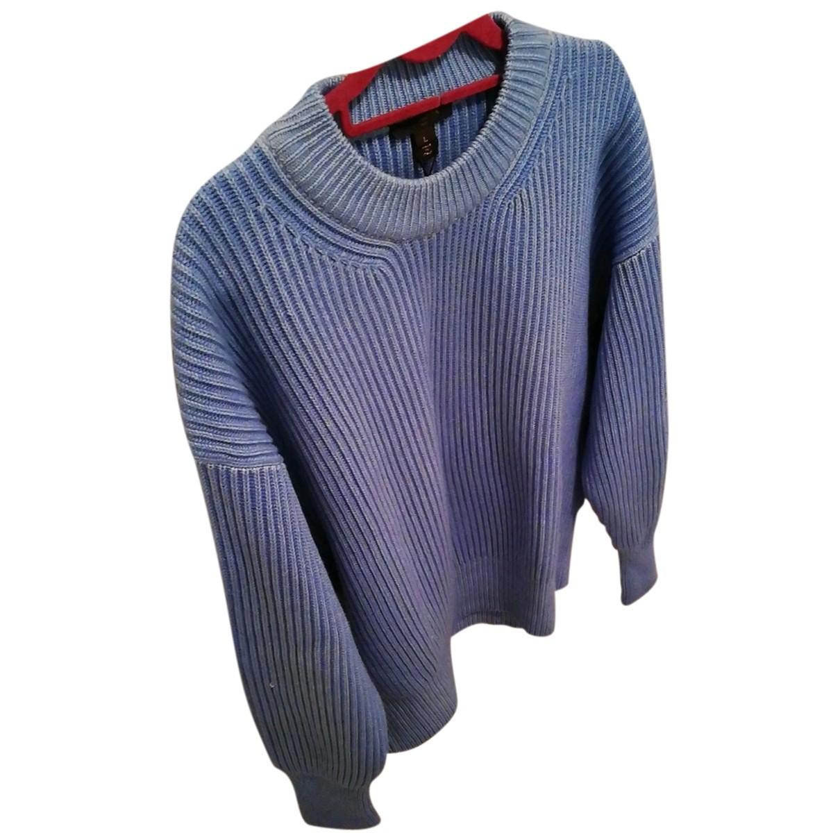 Louis Vuitton - Pull   pour femme en cachemire - bleu