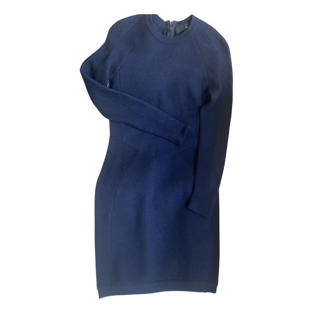 Avelon \N Kleid in  Blau Wolle