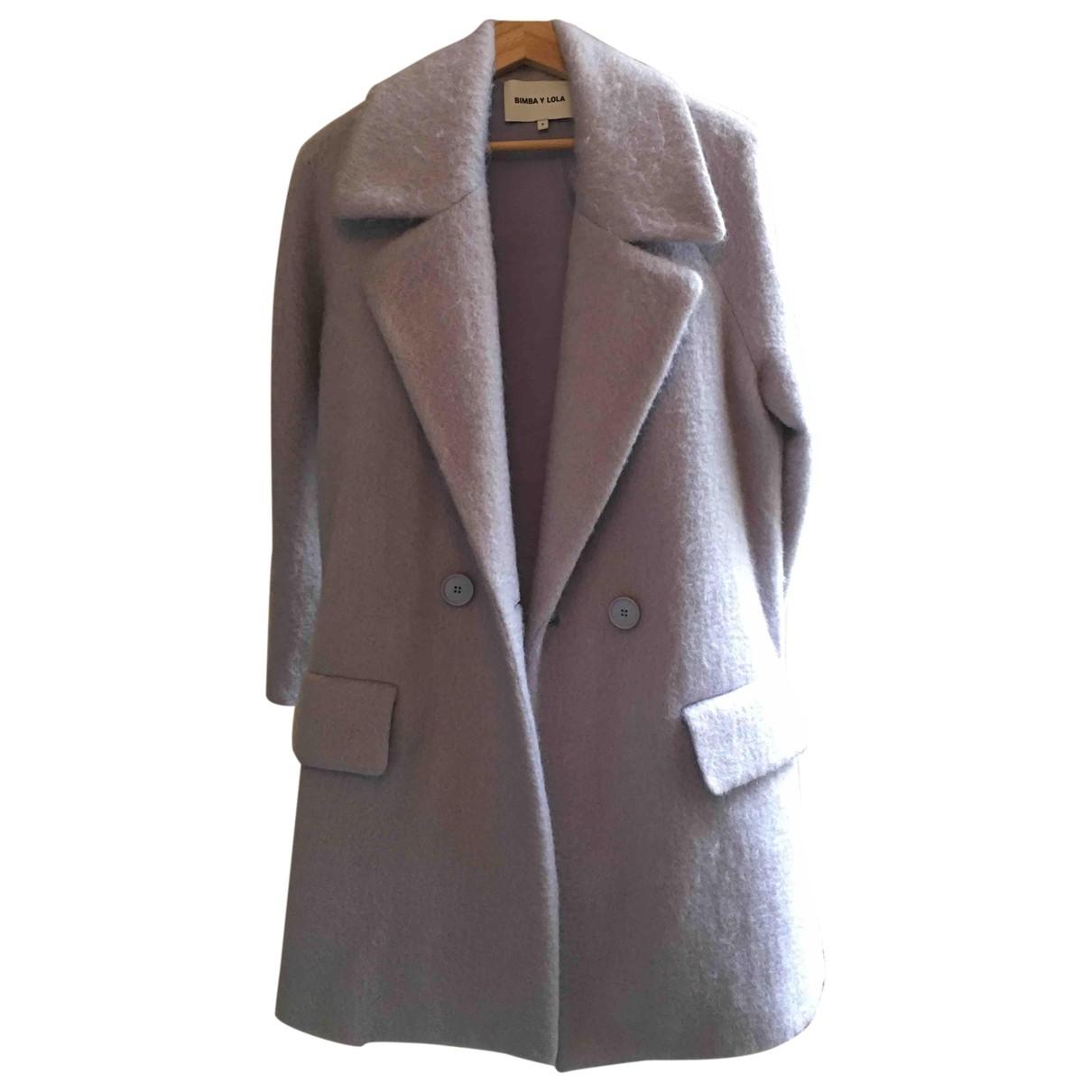Bimba Y Lola - Manteau   pour femme en laine - violet