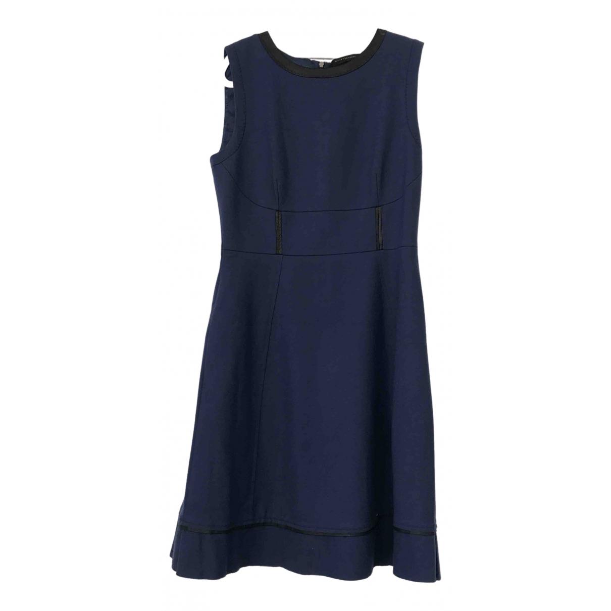 Elie Tahari - Robe   pour femme en laine - bleu