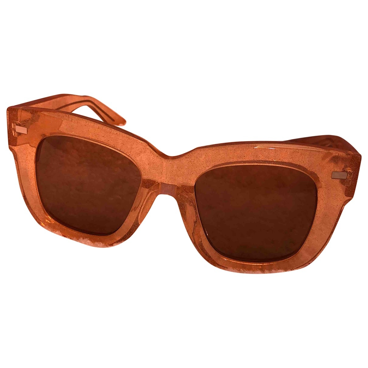 Acne Studios \N Sonnenbrillen in  Orange Metall
