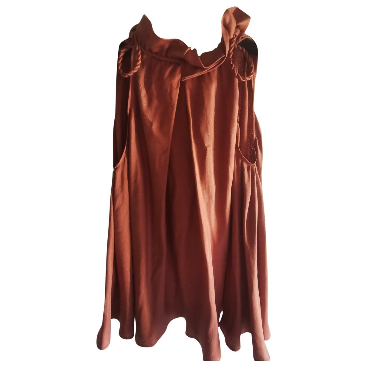 Fendi \N Orange Silk  top for Women 40 IT