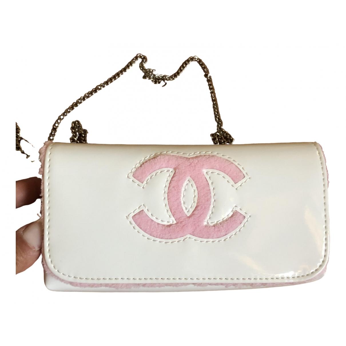 Bolsos clutch en Sintetico Blanco Chanel