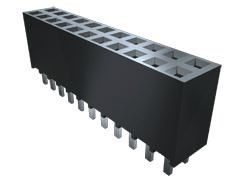 Samtec , SSW 2.54mm Pitch 12 Way 2 Row Right Angle PCB Socket, Through Hole, Solder Termination (1000)