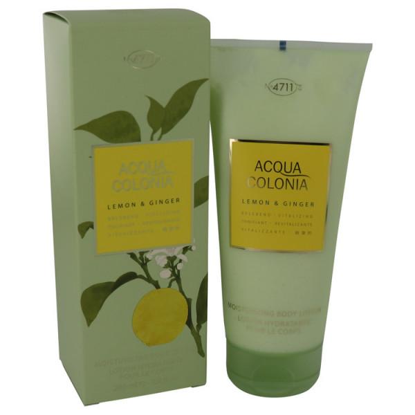 4711 Acqua Colonia Lemon & Ginger - Maeurer & Wirtz Locion corporal 200 ml