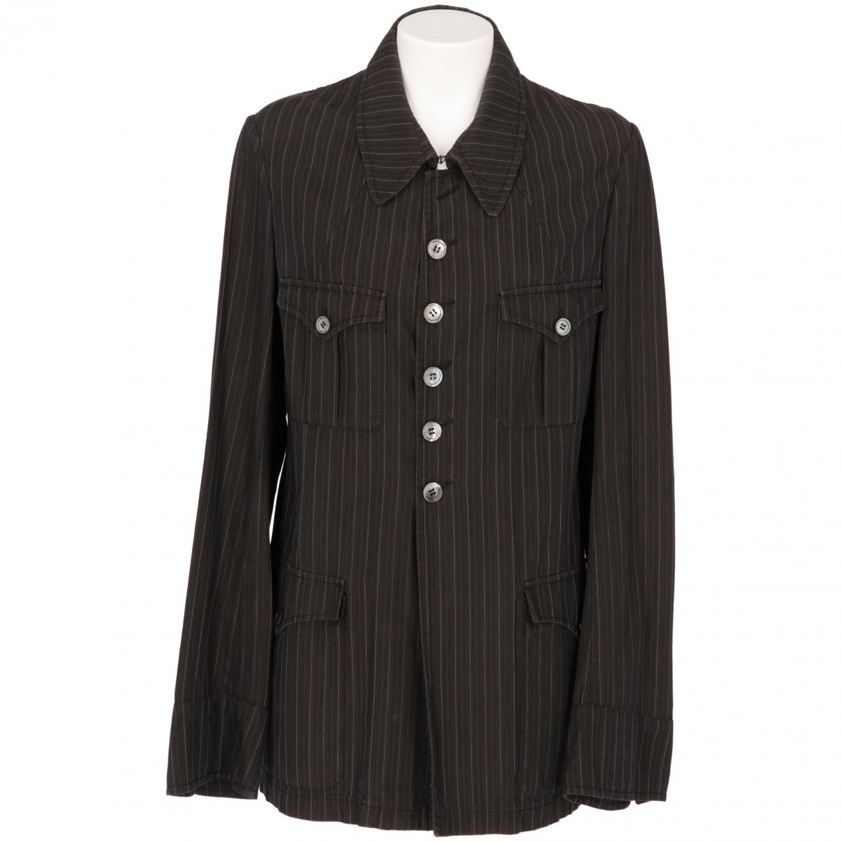 Antonio Marras - Veste   pour femme en coton - gris