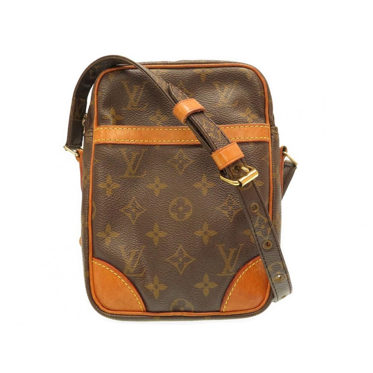 Louis Vuitton Danube Brown Cloth handbag for Women \N