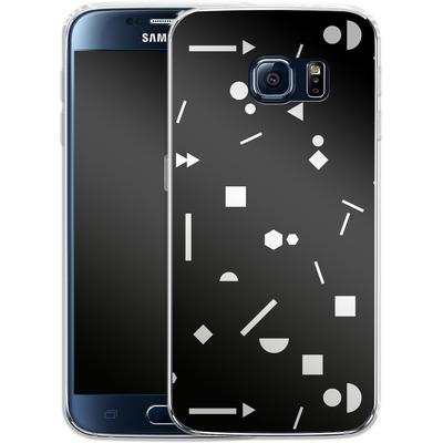 Samsung Galaxy S6 Silikon Handyhuelle - My Favourite Pattern 3 von Mareike Bohmer
