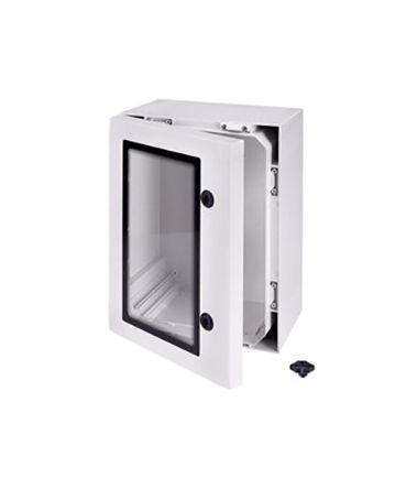 Fibox ARCA, Polycarbonate Wall Box, IP66, 210mm x 400 mm x 300 mm, Grey