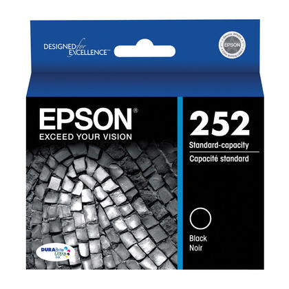 Epson 252 T252120 Original Black Ink Cartridge
