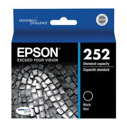 Epson 252 T252120 cartouche d'encre originale noire