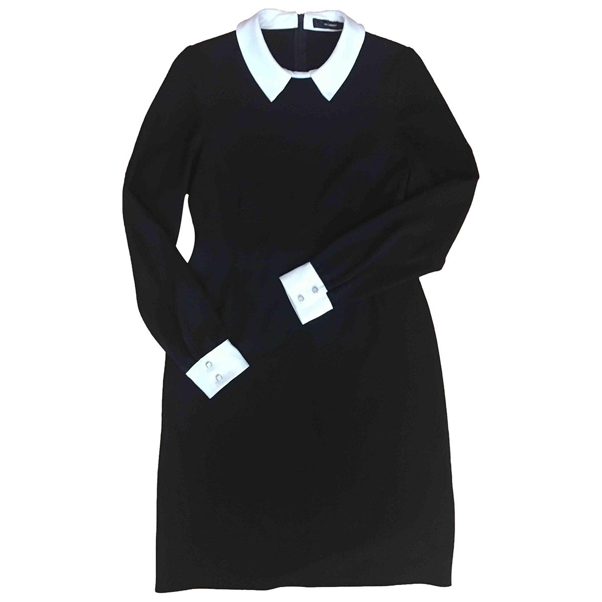 Hallhuber \N Kleid in  Schwarz Viskose
