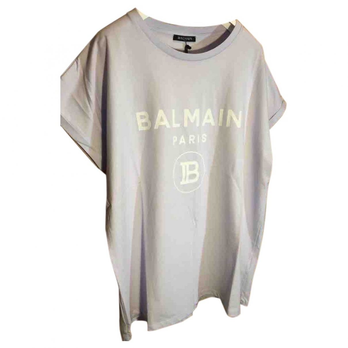 Balmain \N Purple Cotton  top for Women L International