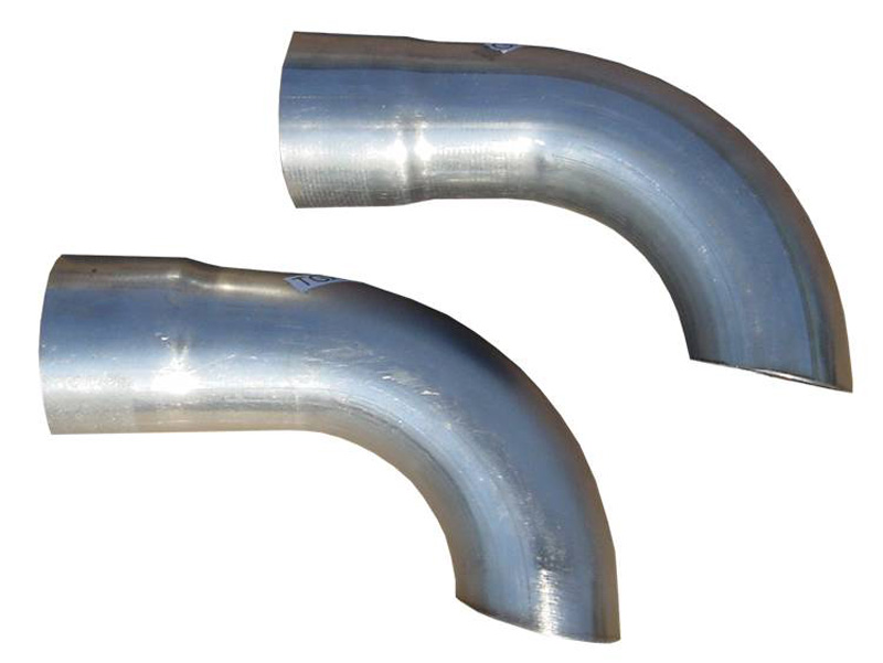 Pypes Exhaust TGA13E Extension Kit 3-Inch Side Exit Used For Quarter Outlet On GM A-Body Systems Stainless Steel Pypes Exhaust TGA13E