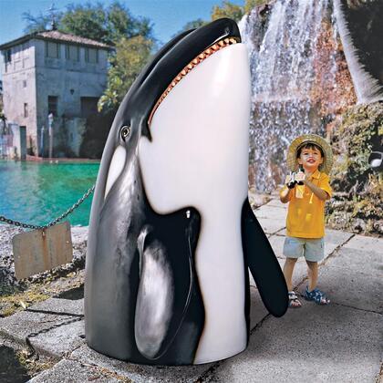 NE150004 Thar She Blows Killer Whale Statue