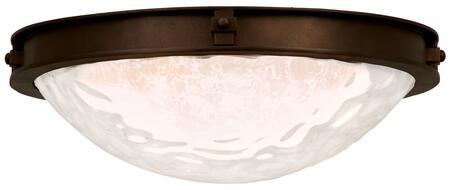 Newport 5756SZ 23 Fluorescent Flush Mount Ceiling Light in Satin