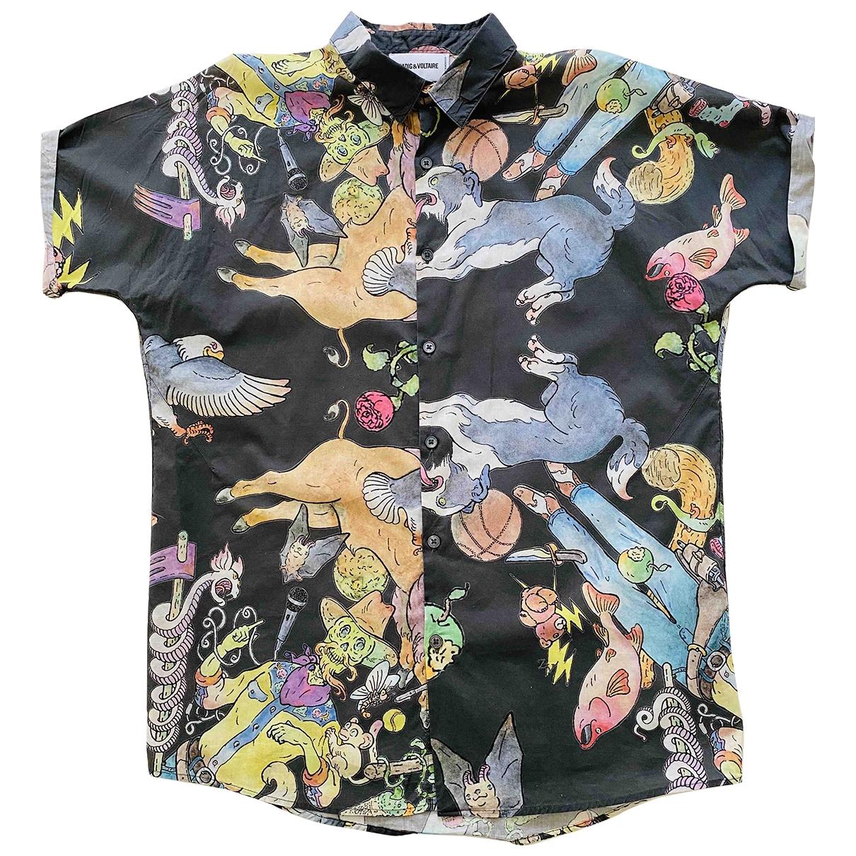 Zadig & Voltaire \N Grey Cotton Shirts for Men M International