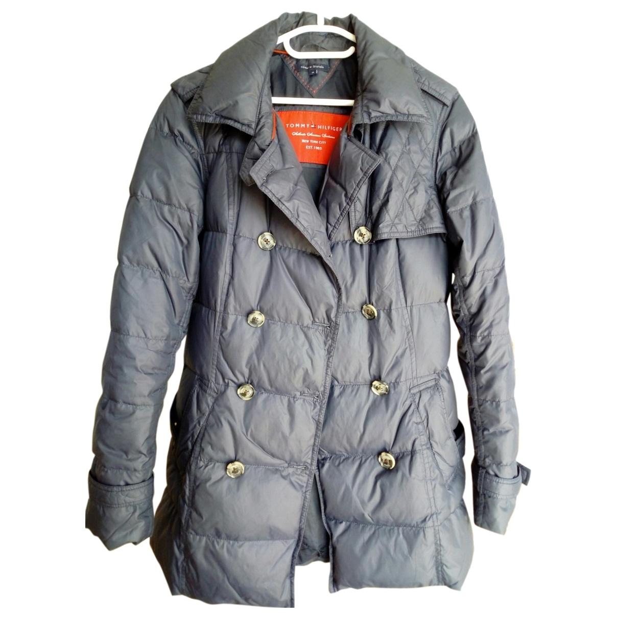 Tommy Hilfiger \N Navy coat for Women 38 FR