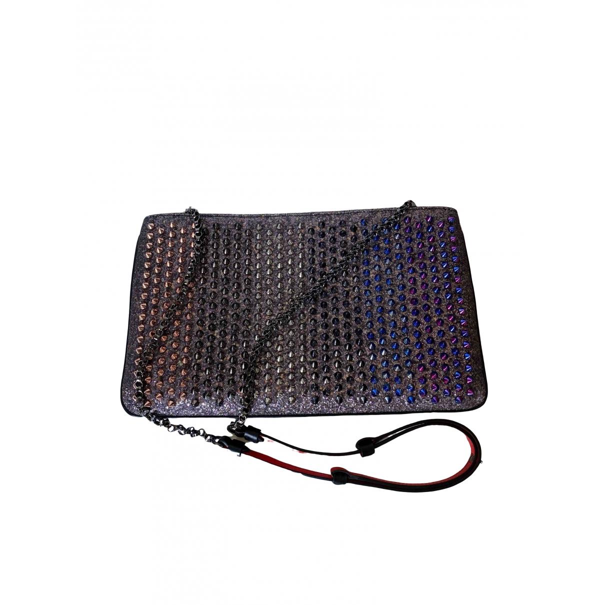 Christian Louboutin Loubiposh Multicolour Glitter Clutch bag for Women \N