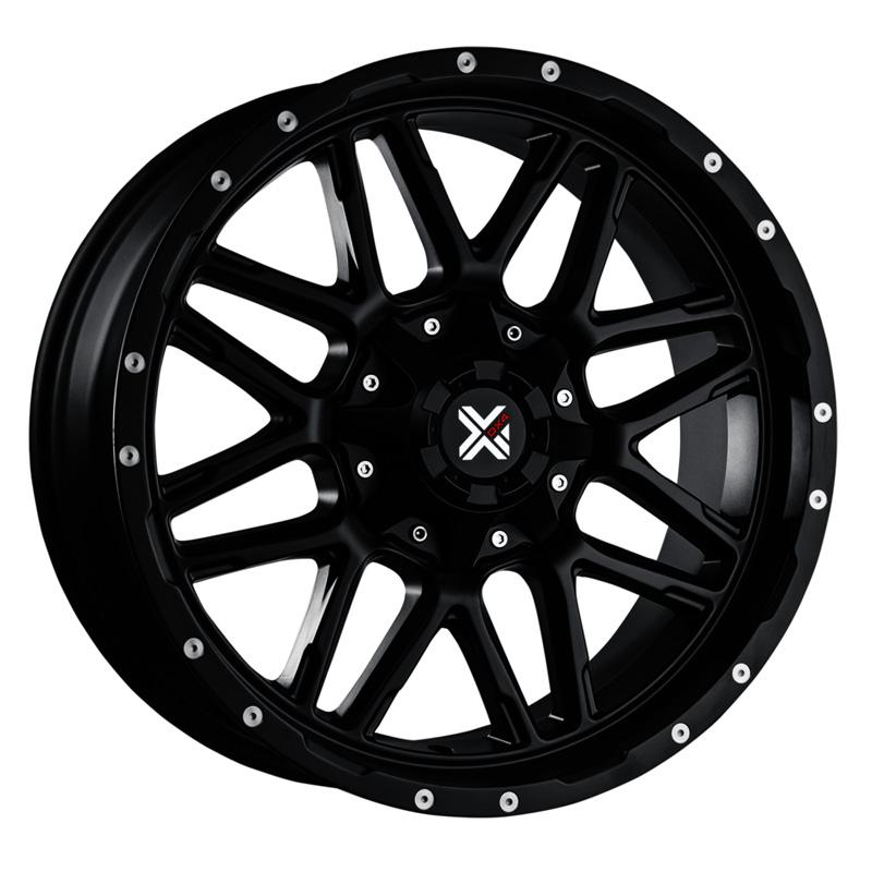 DX4 Vibe Flat Black Full Painted 20x9 5x114.3/4.5