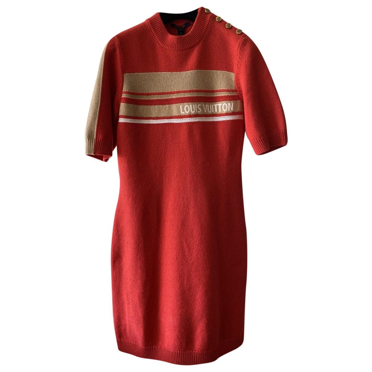 Louis Vuitton \N Kleid in Kaschmir