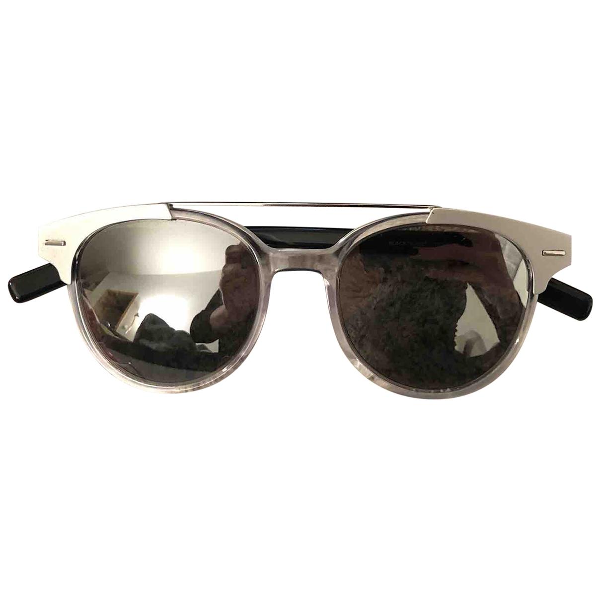 Dior Homme BLACK TIE 220S Sonnenbrillen in  Silber Kunststoff
