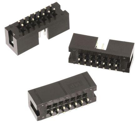 Wurth Elektronik , WR-BHD, 8 Way, 2 Row, Straight PCB Header