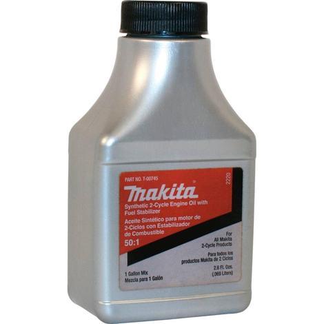 Makita Synthetic 2-Cycle Fuel Mix, 2.6 oz.