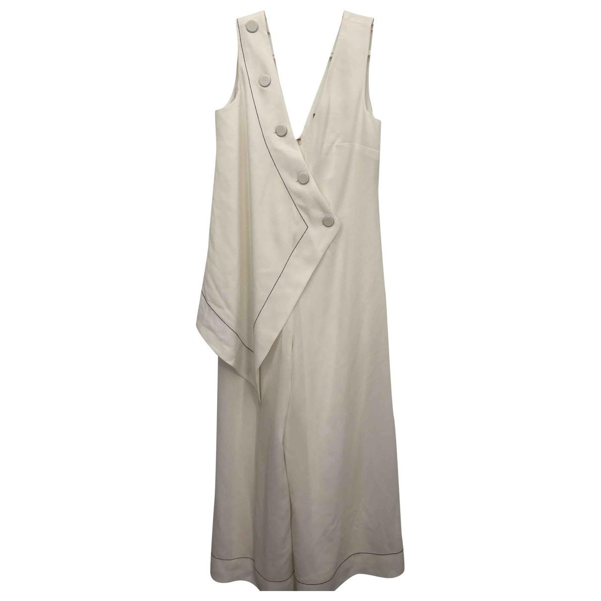 Asos - Combinaison   pour femme en coton - blanc