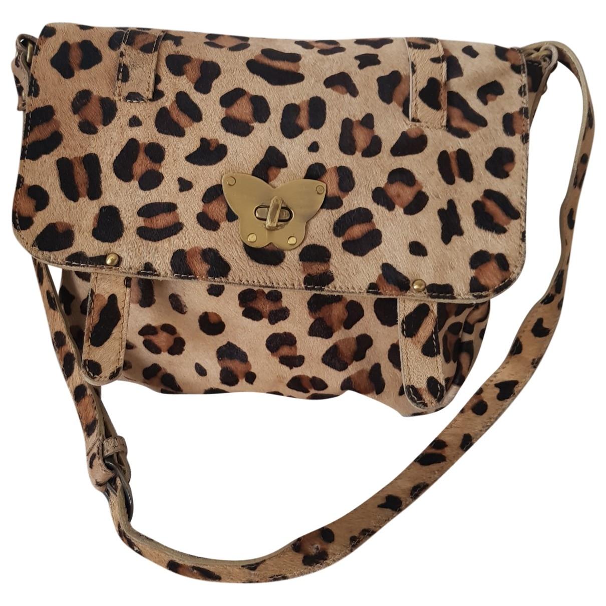 Petite Mendigote \N Handtasche in  Bunt Leder