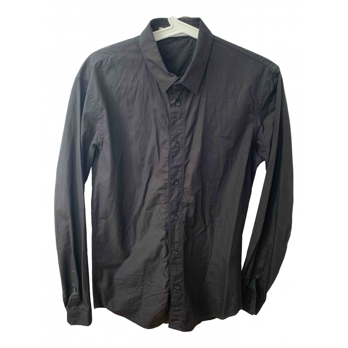 Sandro \N Black Cotton Shirts for Men S International