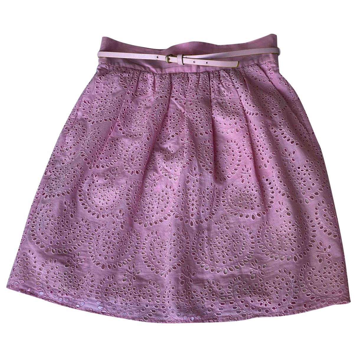 M Missoni - Jupe   pour femme en coton - rose
