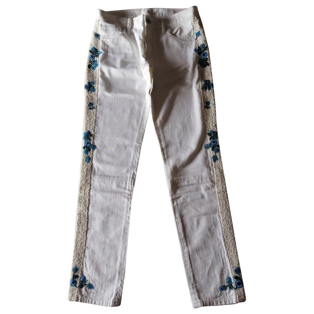 Ralph Lauren \N White Denim - Jeans Jeans for Women 28 US
