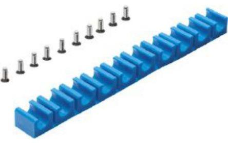 Festo 9 Tubes Tube Clip, For Tube Diam. 6mm