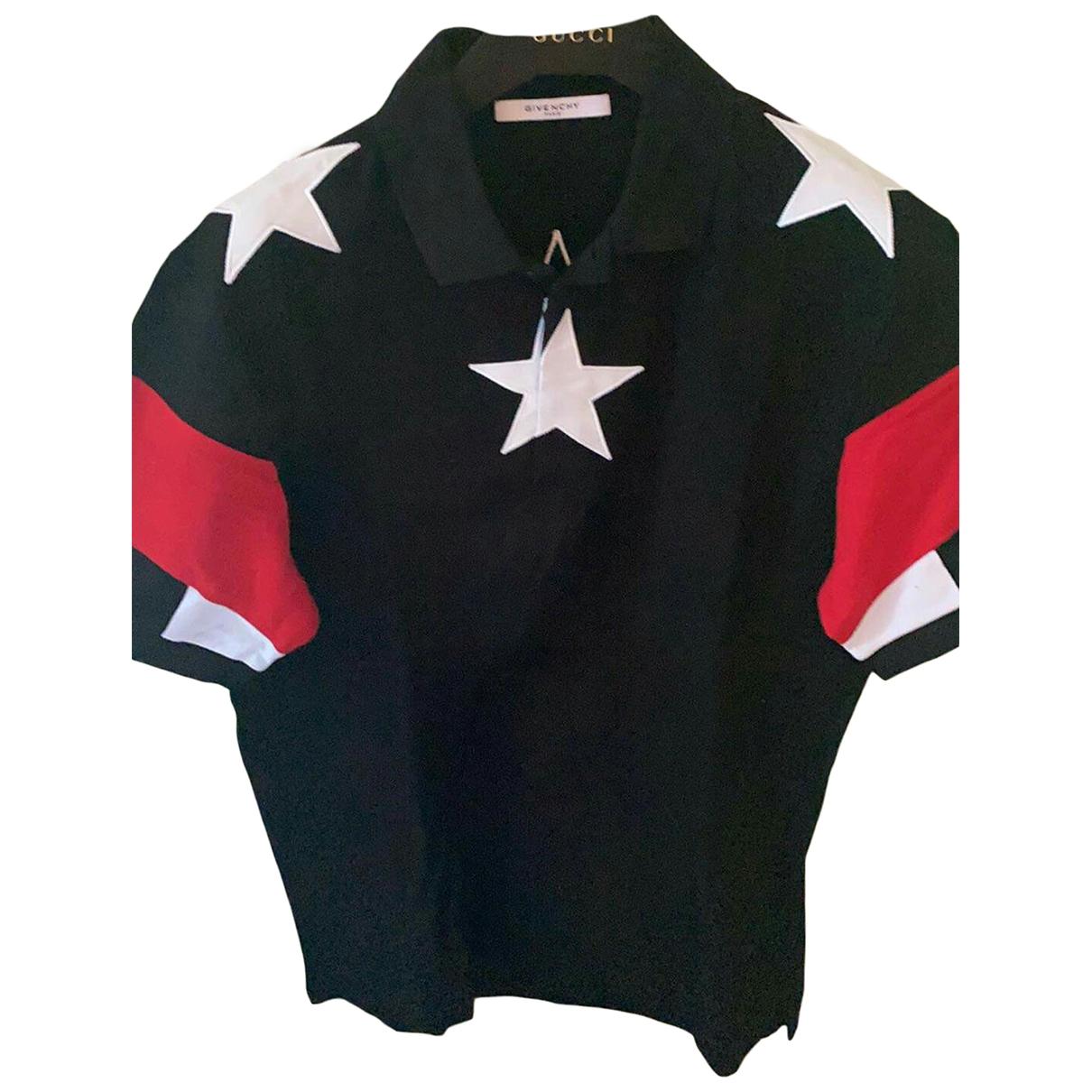 Polo en Algodon Negro Givenchy